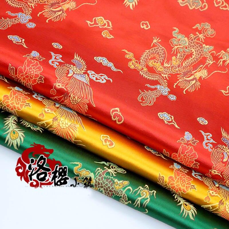 Costume hanfu formal dress kimono ceremonized senior cos clothes woven damask jacquard brocade fabric series
