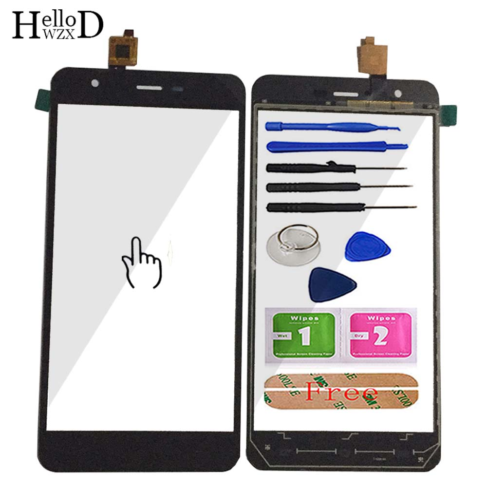 5.5'' Mobile For JY S3 Front Touch Glass For JIAYU S3 Touch Screen Digitizer Panel Lens Sensor Parts Tools Free Adhesive Gift