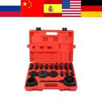 Entferner und Installer Kits 23 stücke Ausgezeichnete Vorderrad Stick Adapter Lager Entfernung Installation Service Werkzeuge für Auto