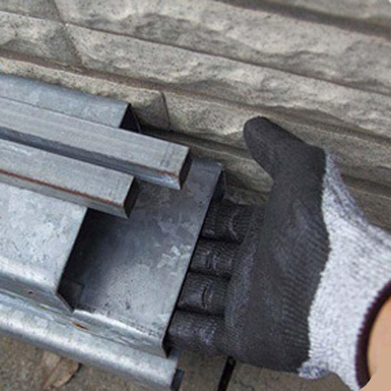 Coated Carbon Fiber Gloves Anti-static Fingertip Anti-skid Protection Wear-resistant Gloves