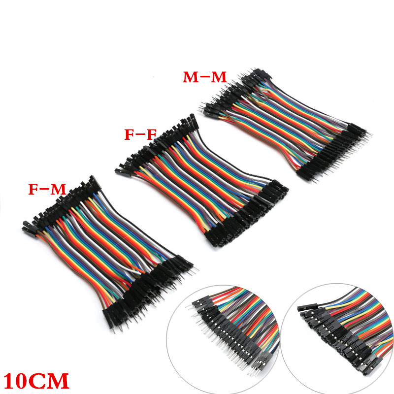40PIN Dupont Line 10cm Male to Male + Female to Male and Female to Female Dupont Cable Breadboard Jumper Wires Kit for Arduino 40PIN Dupont Line 10cm Male to Male + Female to Male and Female to Female Dupont Cable Breadboard Jumper Wires Kit for Arduino