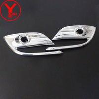 2018 front fog light cover For Mazda 3 Axela 2016 2014 accessories ABS chrome fog lamp For mazda 3 axela 2017 accesorios YCSUNZ