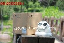 DS-2CD2335-I версия многоязычная 3-МЕГАПИКСЕЛЬНОЙ камеры ВИДЕОНАБЛЮДЕНИЯ POE H.264 +, мини купольная ip-камера 1080 P