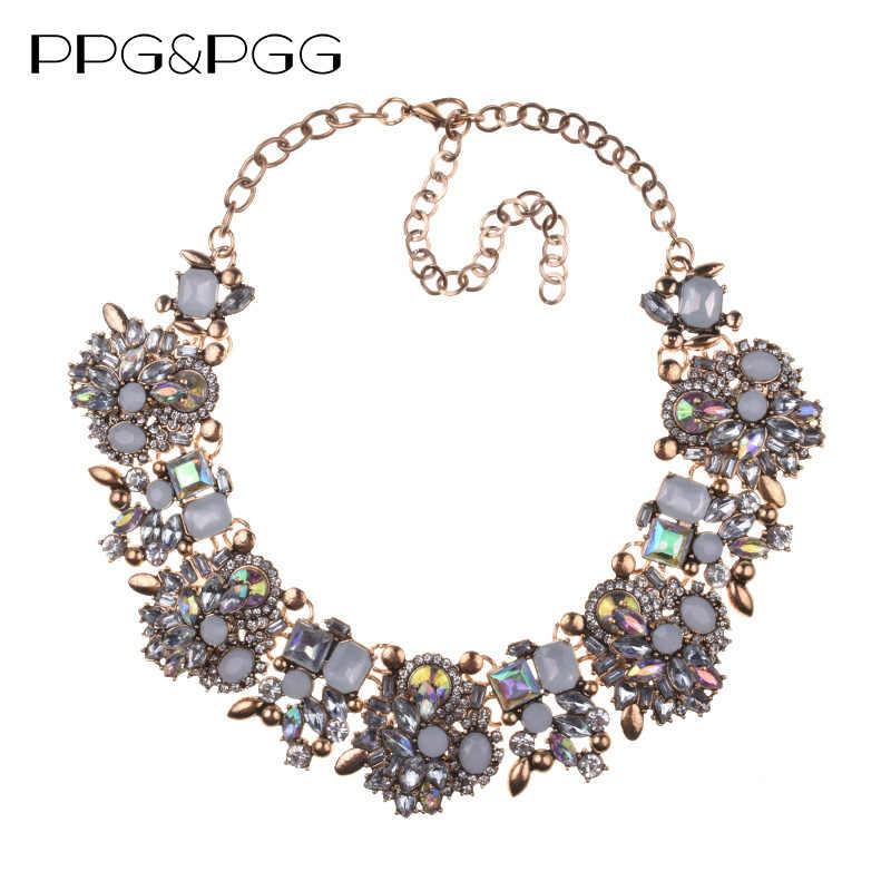 Große Kragen Lätzchen Big Halsketten Frauen Luxus Kristall Strass Halskette Femme Indische Ethnische Hochzeit Aussage Halskette