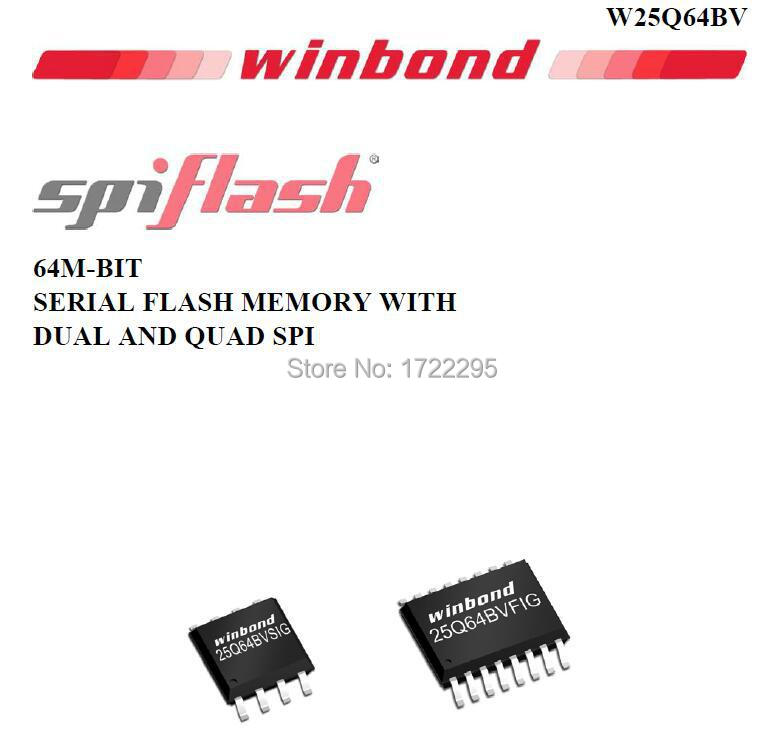 US $9 85  FREE SHIPPING 20PCS 25Q64 W25Q64 W25Q64BVSIG SOP8 SMD WINBOND 64M  BIT SERIAL FLASH MEMORY WITH DUAL AND QUAD SPI IC-in Voltage