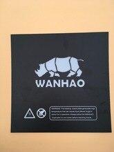 Wanhao i3 3D принтера запасных частей печати кровать с подогревом стикер с аналогичным buildtak Prusa i3 с подогревом пластины построить пластины ленты черный