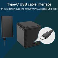 Новый портативный QC Быстрый один для трех аккумуляторов Зарядное устройство тип для хранения зарядный ящик для Insta360 One X Спортивная литиева...