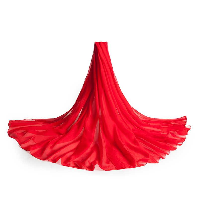 100% gerçek ipek başörtüsü uzun eşarp plaj 180*90 cm atkılar bej siyah bordo gül kırmızı mor yeşil sarı turuncu mavi pelerin şal
