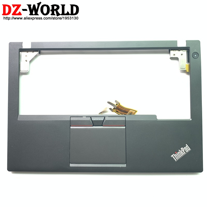 New/Orig for Lenovo ThinkPad X250 X240 Palmrest Cover With 3 Keys Clicker <font><b>Touchpad</b></font> and <font><b>cable</b></font> Reader Switch board 00HT391 image