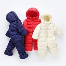 ae60273a10b2c Enfants vêtements pour petit garçon Chaud manteau d hiver Coton Nouveau-nés  Tout-petits habits pour Bébé Fille Infantile Garçons.
