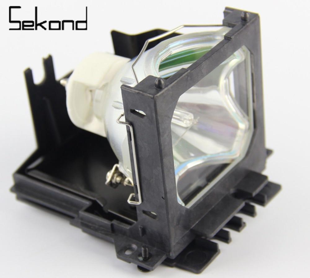SEKOND Compatible Projector Lamp Bulb SP-LAMP-016 SPLAMP016 with housing for Infocus LP850 LP860 free shipping replacement bare projector lamp sp lamp 016 for infocus lp850 lp860 projector