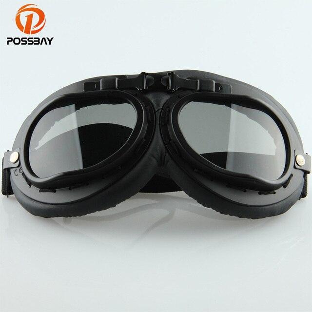 ddda3d5a9 Piloto Aviador Cruiser POSSBAY Goggle Oculos Ciclismo Óculos Óculos de  Motocross Óculos de Proteção Da Motocicleta