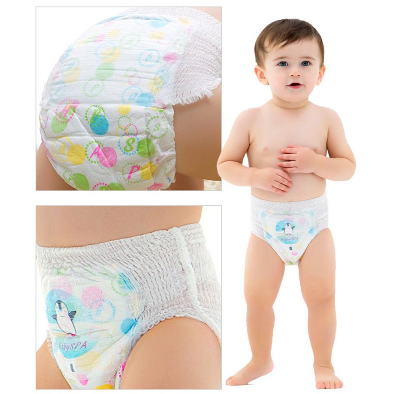 New Pattern Baby Boys Girls High Quality Breathable Disposable Swim Pants Baby Waterproof Diapers Leak Urine Baby Swimming Pants