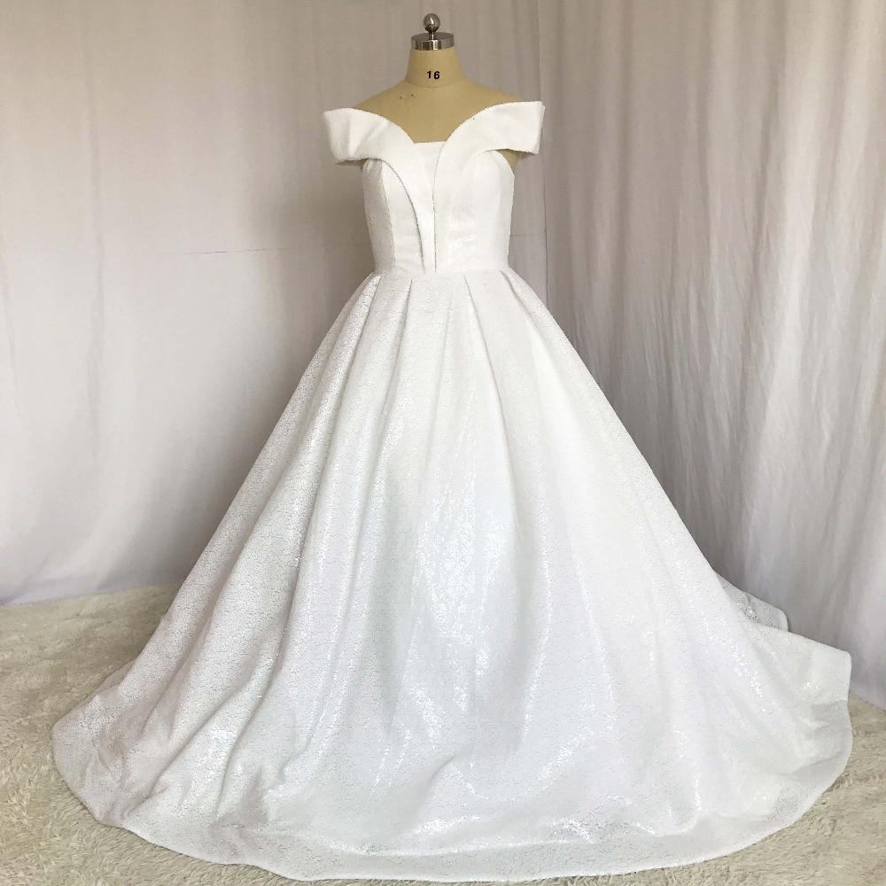 Classic Robe De Mariee Ivory Strapless Sleeveless Bling Bling Ball ...