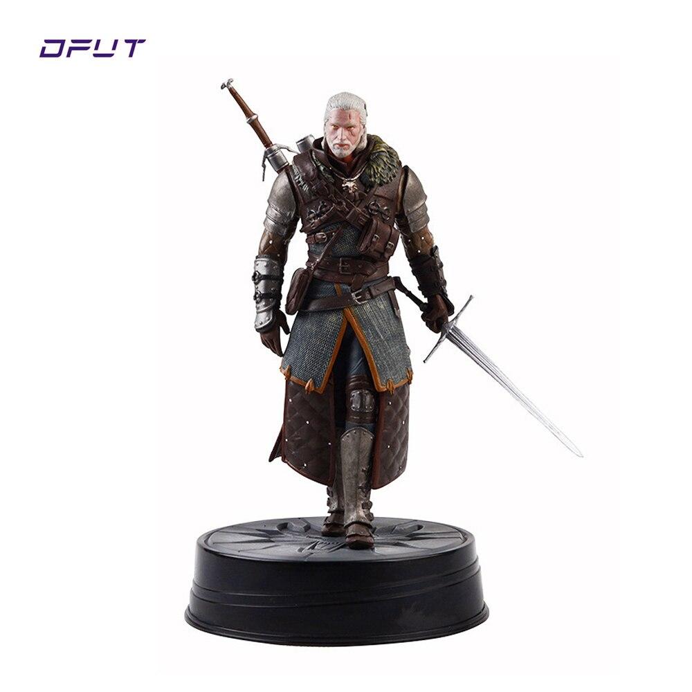 Nouveauté the witcher figurine Dark Horse Deluxe The Witcher 3: chasse sauvage: Geralt Grandmaster Ursine figurine pour enfants cadeau
