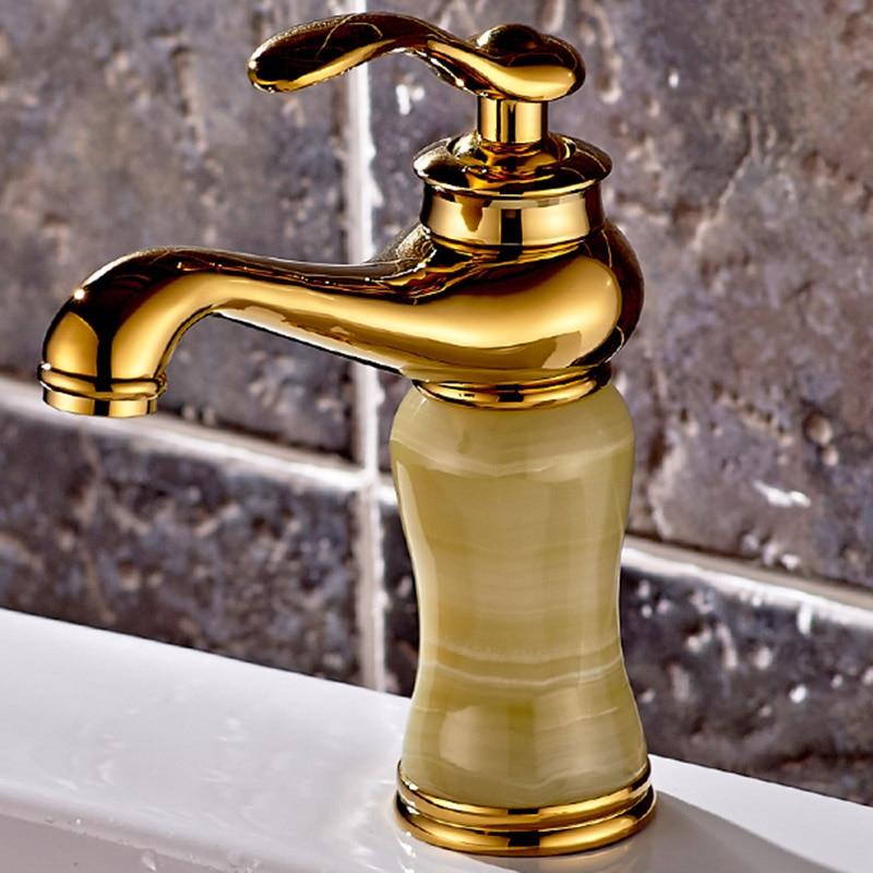 Robinets de bassin or rose pont monté bassin évier mitigeur robinets cascade robinets d'eau mitigeur de bassin griferia salle de bain