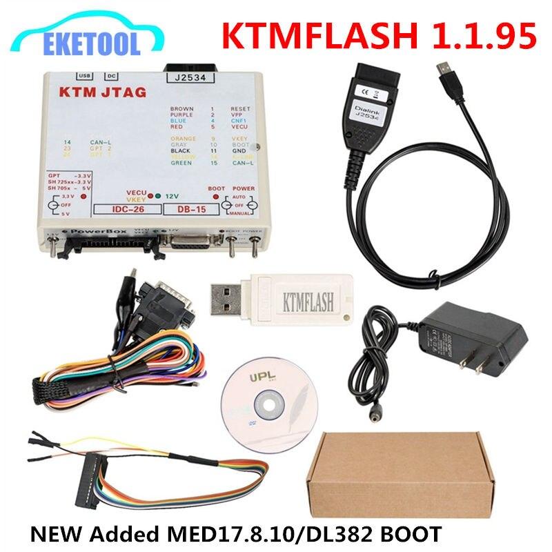 PCMFlash 1.1.95 KTMFLASH Programador ECU Diagnostic Tool DiaLink J2534 KTM KTM TAG Transferência Rápida Atualização do Flash De Verificação De Transmissão