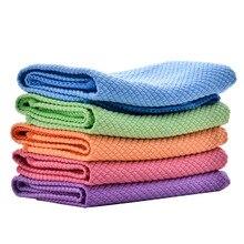 30*40 cm/11.8*15.7 pollici In Microfibra di Pulizia Asciugamani Panno di Pulizia Salviette Finestra Tavolo Da Cucina In Vetro Assorbibile auto Piatto Asciugamano Rag