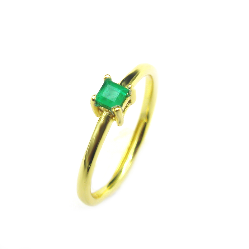 925 sterling silver Emerald Rings gift for women jewelry classic Wedding ring Emerald open rings Fine Jewelry j030301agml classic 10 75ct nano russian emerald ring emerald cut solid 925 sterling silver ring set best brand fine jewelry for women
