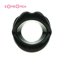 Sexy  Female Oral Rubber Lips Sex Mouth Gag Open Fixation Mouth Stuffed Oral Sex Gag For Women Adult Games Sex Toys Womanizer