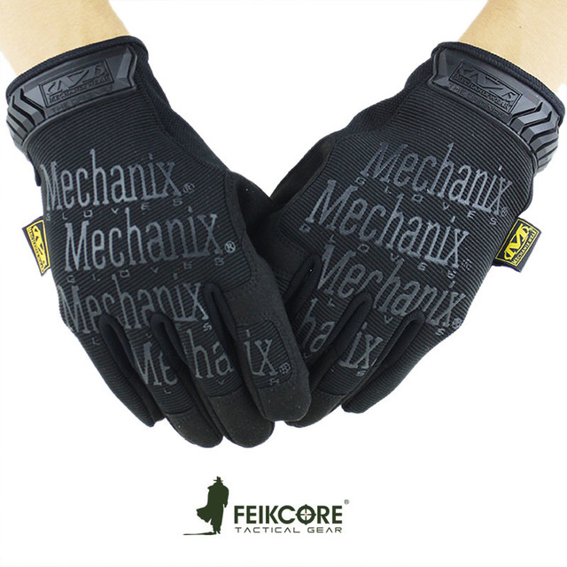 Navy Seals Outdoor Tactical Full Finger Gloves Military police