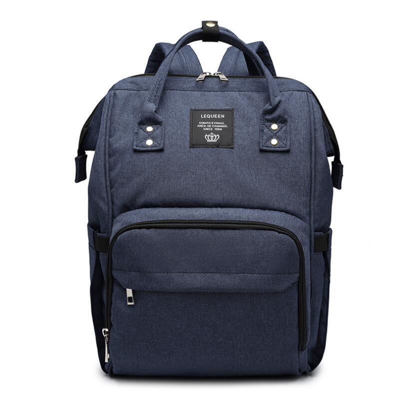 LEQUEEN Diaper Bag Baby Care for Daddy Mummy Nursing Bag Large Storage Travel Backpack Stroller Bag Nappy Bag