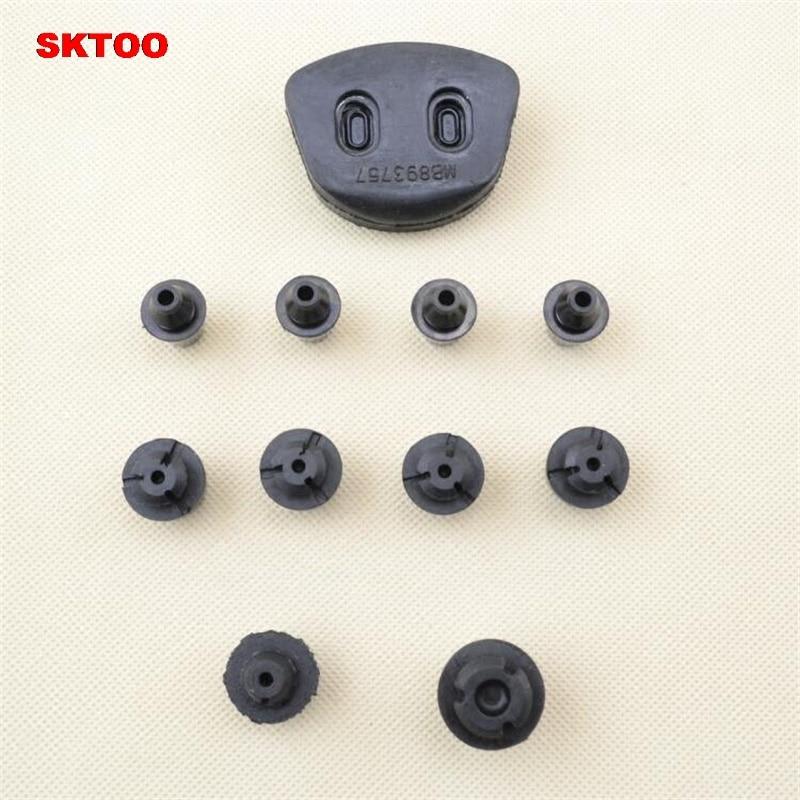 Sktoo 11pcs Door Buffer Rubber Damping Rubber Particles
