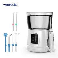 Waterpulse V700PLUS воды Flosser 1000 мл ёмкость ирригатор для полости рта зубная нить инструмент орошение полости рта гигиена полости рта 6 шт. советы