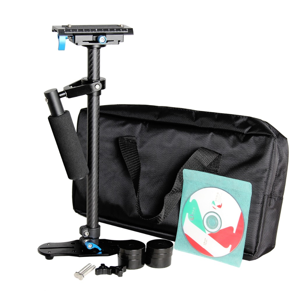 Ulanzi S60T 60cm Carbon Fiber Steadicam Handheld Steadycam Camera Stabilizer Holder Video Steady cam for Canon Nikon Sony DSLR