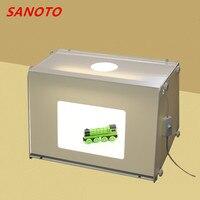 Free Shipping SANOTO brand Portable Mini Photo Studio Photography Light Box Photo Box MK40 Soft Box For 220/110V