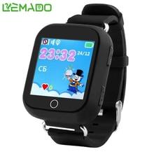 Q750 Kid Reloj Reloj Inteligente GPS Wifi Monitor de Localizador LIBRAS teléfono 1.54 Pulgadas de Pantalla Táctil SOS Dispositivo Seguro Anti-Perdido Ubicación Tracker