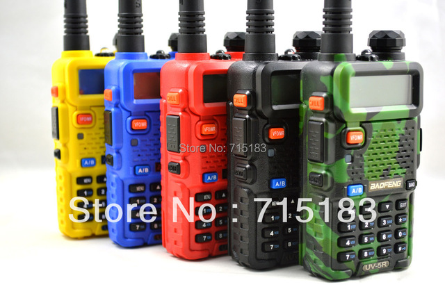 2016 New Baofeng Pofung UV5R Walkie Talkie Baofeng UV-5R Dual Band CB Radio UHF400-520MHz&VHF136-174MHz Portable two way radio