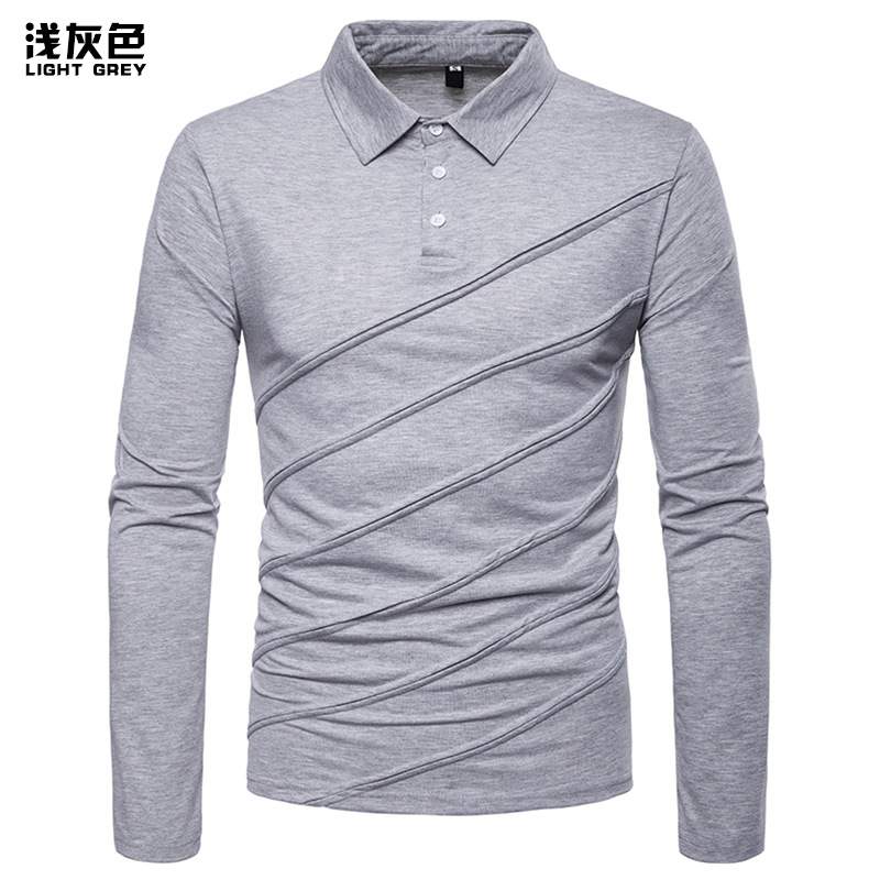 240 Gsm Mens Thermal Ash Grey 100/% Cotton Soft Long Sleeve Fitted T-shirt Top