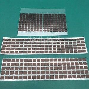 Image 2 - Pegatina negra para teléfono X Xs xs max, adhesivo para pantalla LCD, Cable flexible, pegamento adhesivo, 100 Uds.
