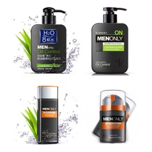 Men Skin Care Series Deep Cleansing Facial Cleanser/Body lotion Face Acne Treatment Oil Control Moisturizing Whitening