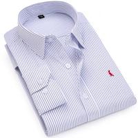 Dudalina Business Shirts 2017 New Fashion Brand Clothing Mens Long Sleeve Work Shirt Slim Fit Shirt Big Size S 6XL Casual Shirt
