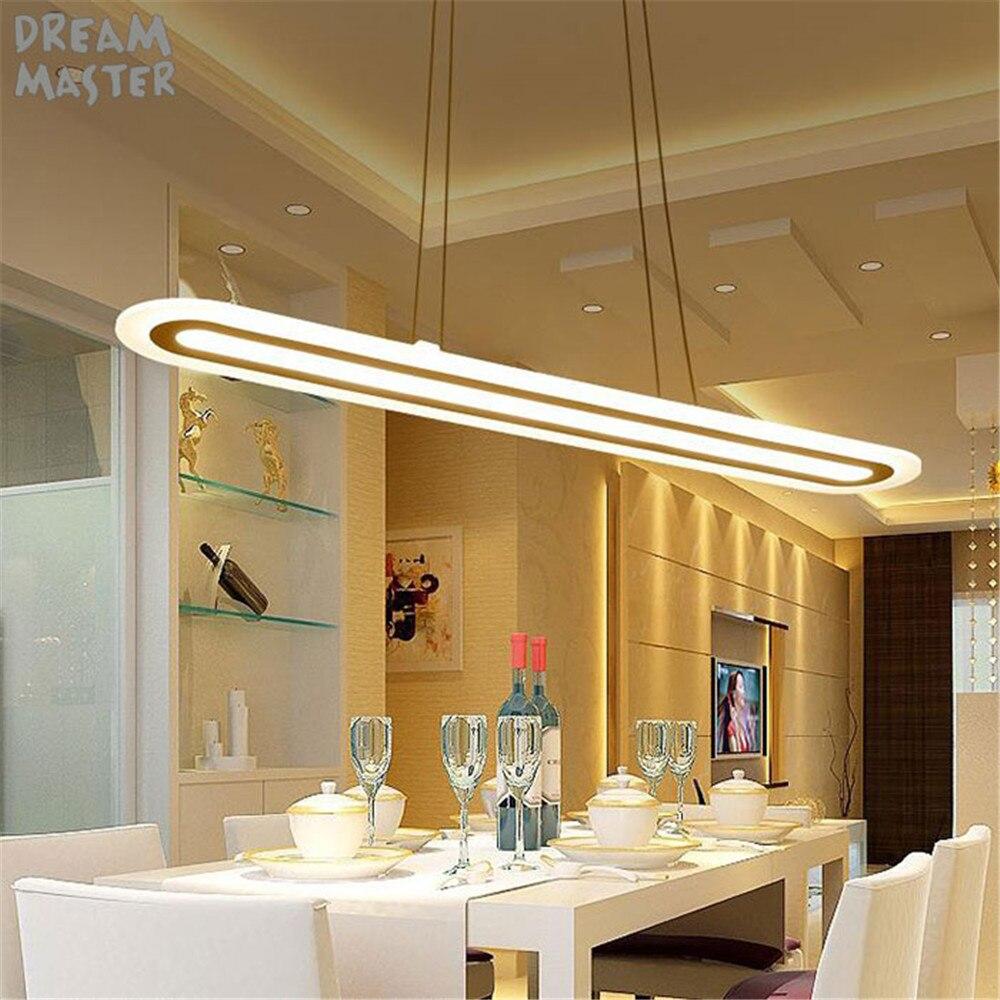 Pendentif lumineux LED moderne pendentif lampe en ligne luminaires abajour pour salle à manger salon chambre cuisine éclairage
