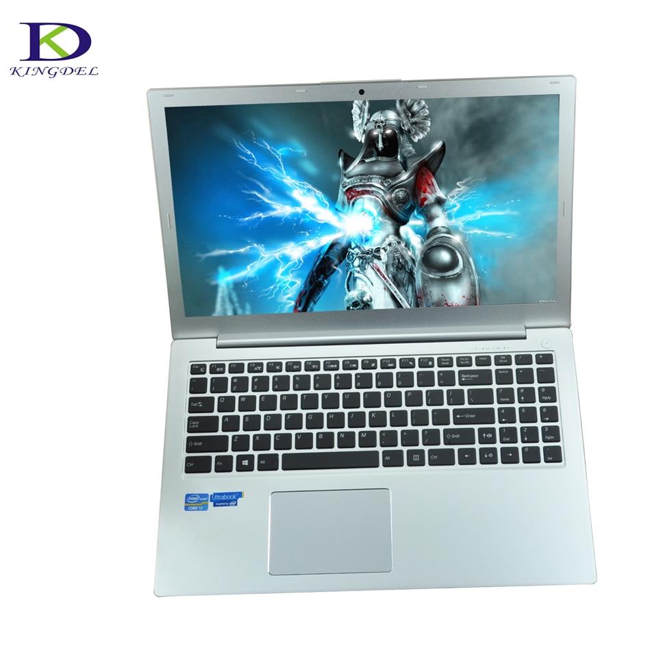 Best Quality 15.6″ i7 Laptop Computer 6th Gen Core i7 6500U Metal Body 4G DDR4 Ram 64G SSD WiFi Bluetooth HDMI Backlit keyboard