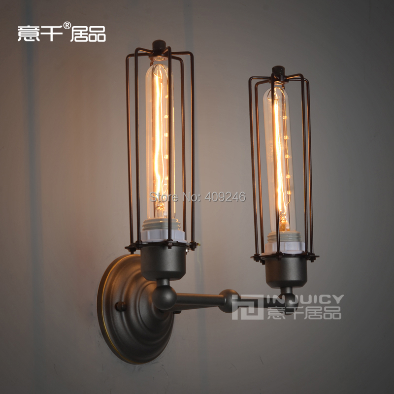 ФОТО RH LOFT industry counter Edison art club house light Black With Rust Cafe Bar Coffee Shop Store Club Balcony Hallway