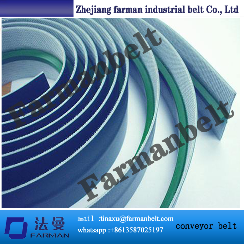 f1b26324158 PVC PU Conveyor Belt with Cleats Guide