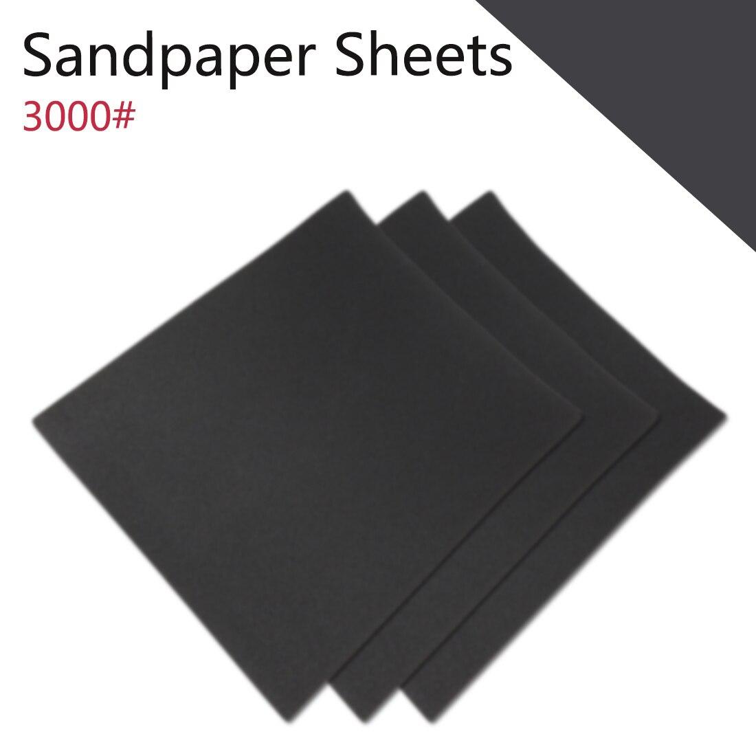 3000 5000 7000 Metal Wood Abrasive Tool Waterproof Sanding Paper Wet Dry Polishing Sandpaper Grit Granularity