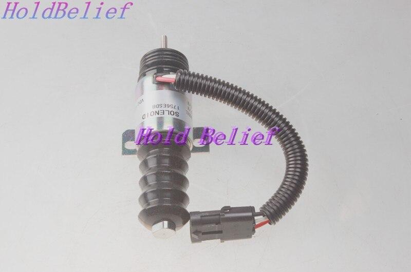 12V Fuel Shutoff Solenoid Valve 836664211 for Valmet Sisu MF