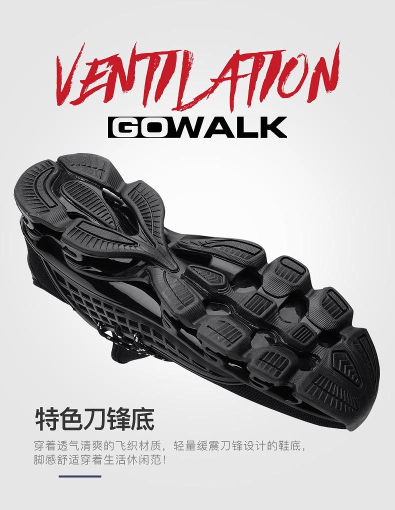 18 New Breathable QIYHONG Men Sneakers Unisex Couple Shoes Basket Femme Hard-Wearing Tenis Feminino Male Footwear Plus Size 7