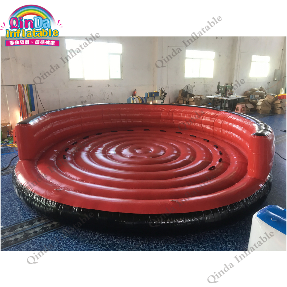 5m diameter 1 m height Inflatable Flying UFO ,0.9mm PVC Tarpaulin Inflatable Water Sofa for Water Sport