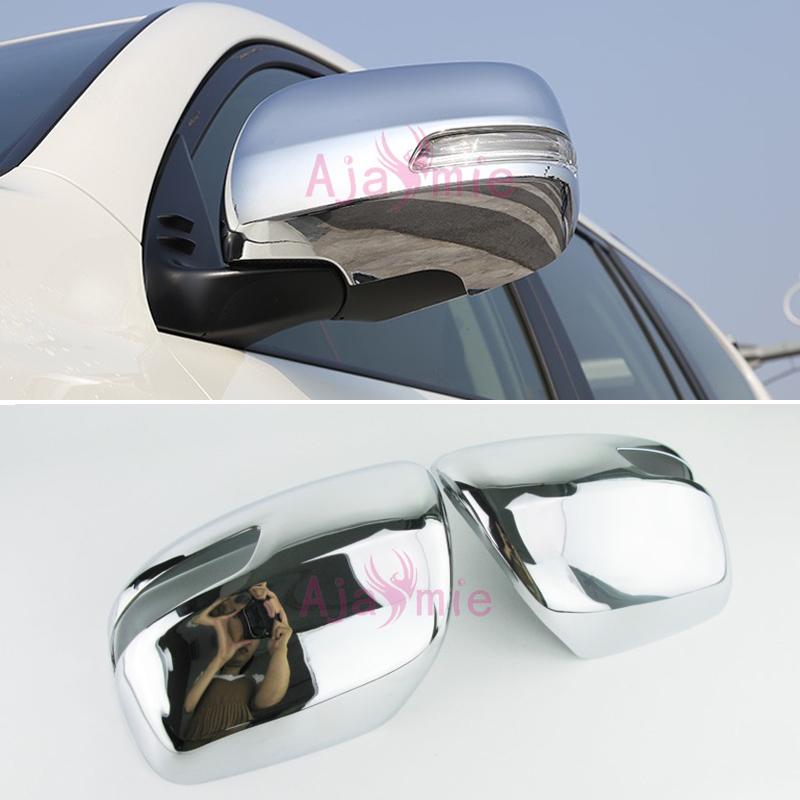 Chrome Car Styling Door Mirror Cover Rearview Overlay Trim Rear View Panel 2012 2017 For Toyota