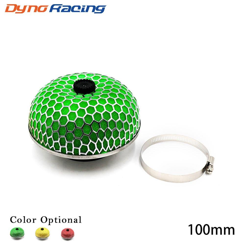 Universal Air Filter 100mm Mushroom Head Universal Racing Car AIR Filter Flow Air Intake System Reloaded Cleaner No Logo