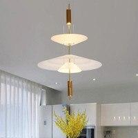 Nórdico moderno ouro led pingente luzes quarto sala de jantar cozinha hanglampen voor eetkamer e27 lâmpada led edison luz|Luzes de pendentes| |  -