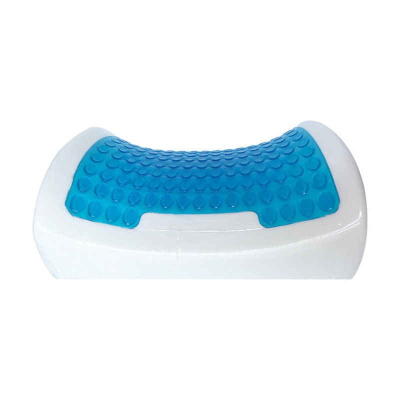 Peter Khanun Silicone Gel Memory Foam Cool Chair Cushion Concave Waist Spine Support Seat Pad Summer Chair Slow Rebound Mat 030