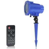 8 Patterns Christmas Laser Snowflake Projector Outdoor LED Waterproof Disco Lights Home Garden Star Light Indoor Decoration