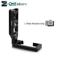 L Type Bracket Vertical Quick Release Tripod Plate Grip Handle for Canon EOS R EOSR Camera Tripod Ball Head L Shaped
